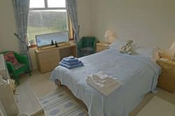 Bedroom 2 at the cottage in the Isle of Skye, Scotland